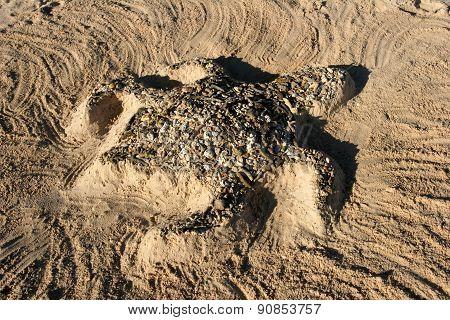 Beach Sand Turtle