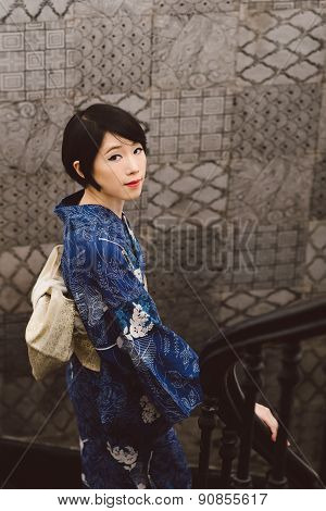 Charming Japanese Woman