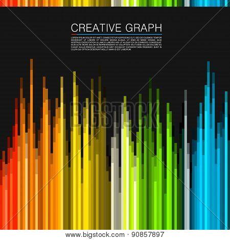 The color spectrum. Vector illustration