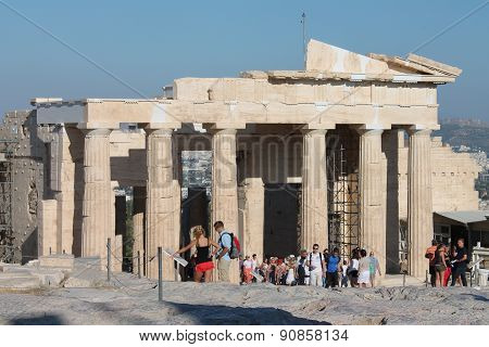 Greece, Athens, Acropolis August 20, 2013