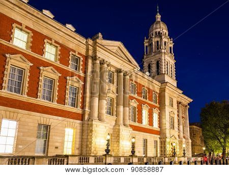 Old Admiralty Building In London, England