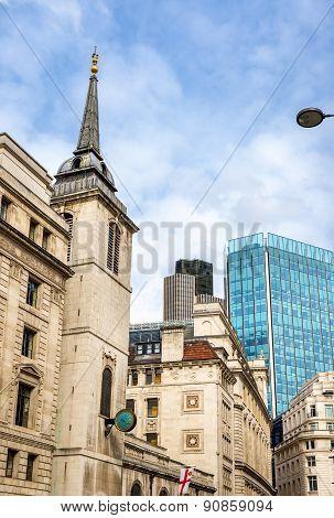 St. Margaret Lothbury Church In London, England
