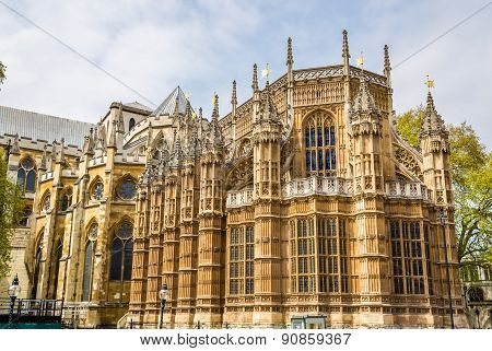 Henry Vii Chapel Of Westminster Abbey In London