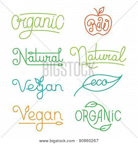 Vector Labels And Logos