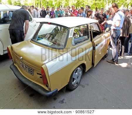 East Germany Two-stroke Engine Retro Car Trabant 601 Limousine Standart