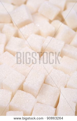 Refined Sugar Close Up