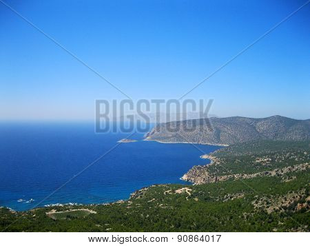 Coast of Rhodes