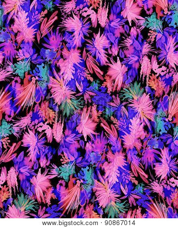 Artistic Tropical Pattern.