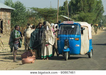 Modes Of Transport In Ethiopia, Africa