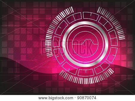 Technology Vector Abstract Background