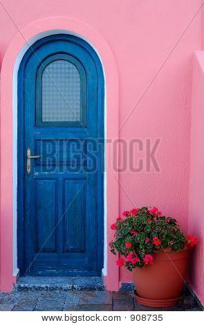 A Door On A Greek Island