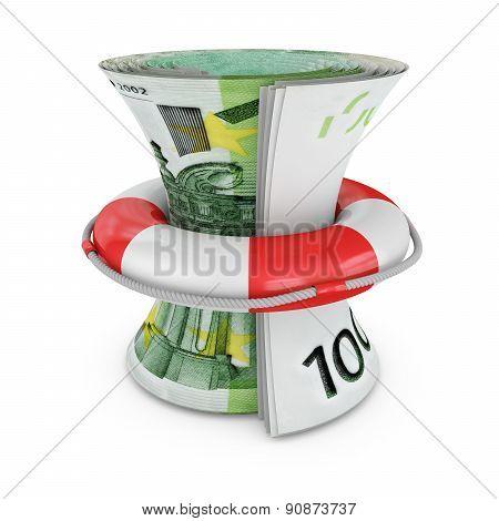 Lifebuoy And Euro