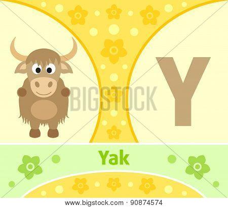 The English alphabet Y