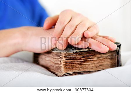 Person With A Bible