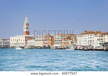 San Marco square and Doge's palace, Venice