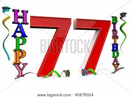 All For The Good 77 Birthday