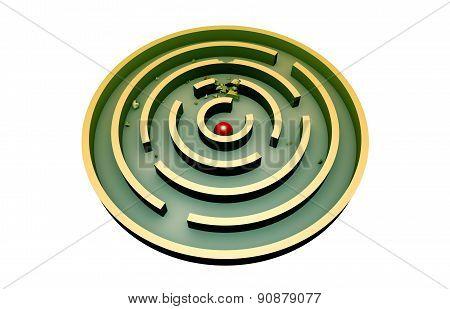 Persistence (round Maze)