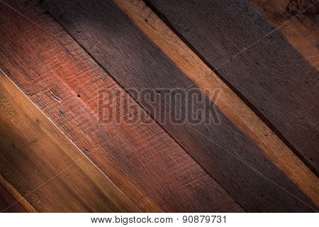 Lighting On Wood Texture Background