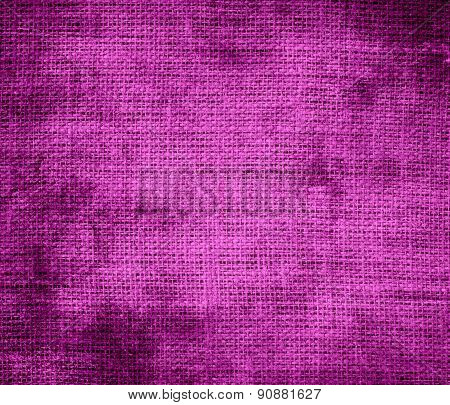 Grunge background of byzantine burlap texture