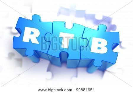 RTB - Text on Blue Puzzles.