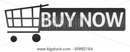 Buy Now Black Shopping Cart Button