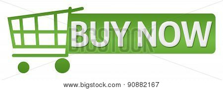 Buy Now Green Shopping Cart Button