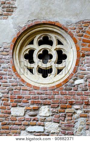 medevial castle window detail