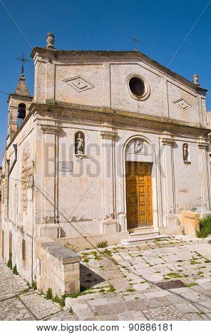 St. Maria della Virtu Nuova Church. Matera. Basilicata. Italy.