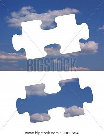 Puzzlespiel Himmel