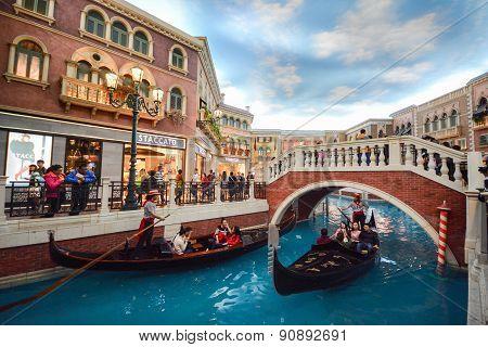 The Venetian Hotel At Macau, China