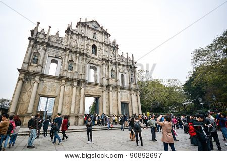 Saint Paul's Cathedral, Macau