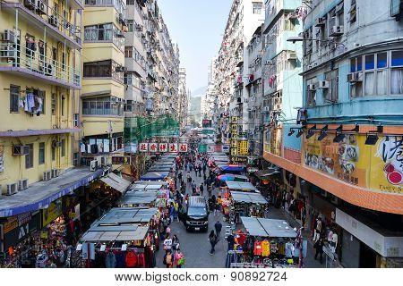 Fa Yuen Street At Mong Kok, Kowloon, Hong Kong