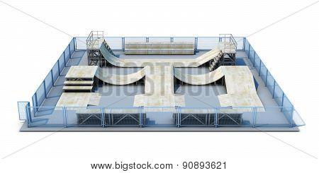 Platform For A Skating