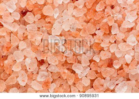Himalayan pink salt crystals