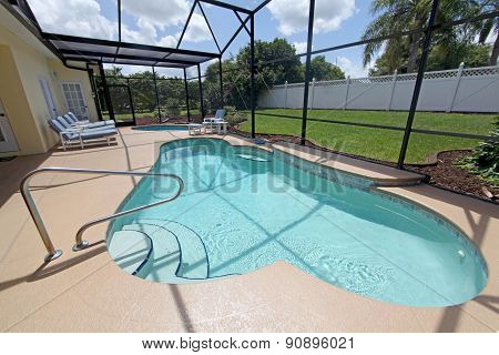 Swimming Pool And Spa