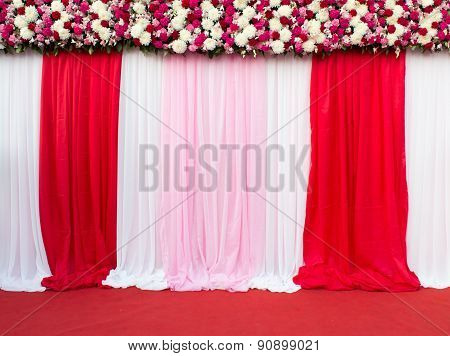 Wedding Stage Decoration For Take Picture