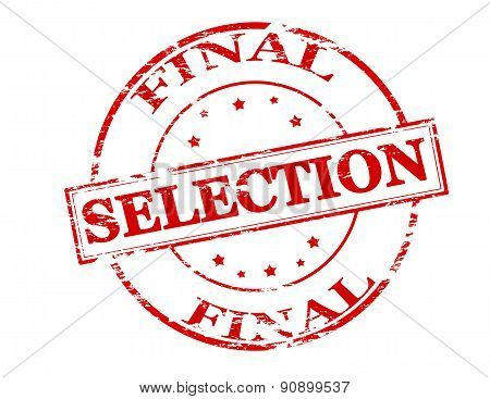 Final selection