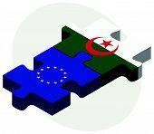 picture of algeria  - Vector Image  - JPG
