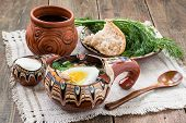 picture of stein  - Popular russian spring cold soup  - JPG