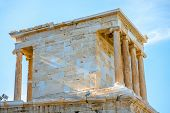 Постер, плакат: Nike temple in Acropolis