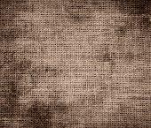 stock photo of beaver  - Grunge background of beaver burlap texture for design - JPG