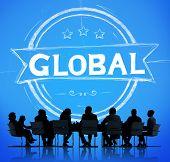 pic of globalization  - Global Globalization Community Communication Concept - JPG