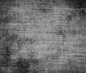 foto of battleship  - Grunge background of battleship grey burlap texture for design - JPG