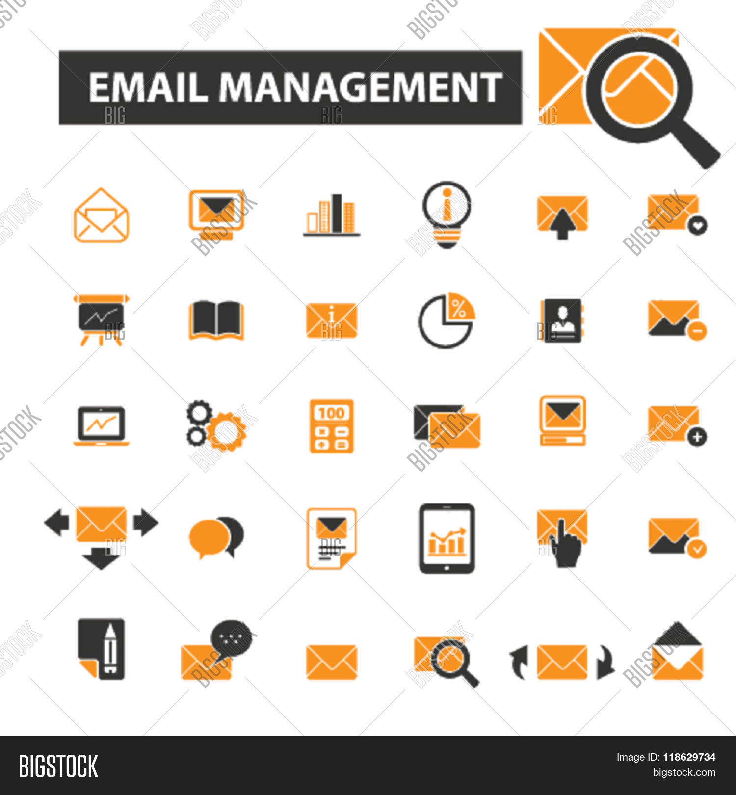 Remarkable email icon vector images