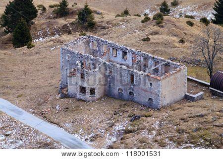 Abandoned Military Barracks