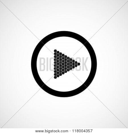 Vector Icon - play