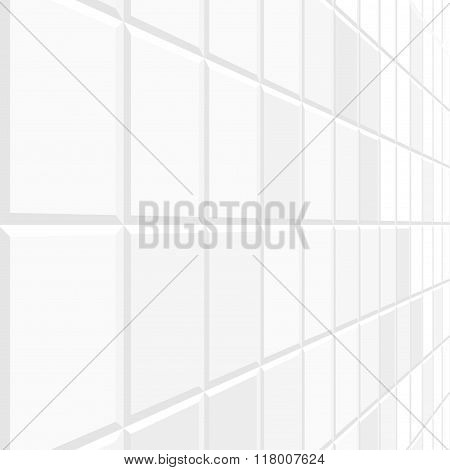 Abstract tile background with perspective.
