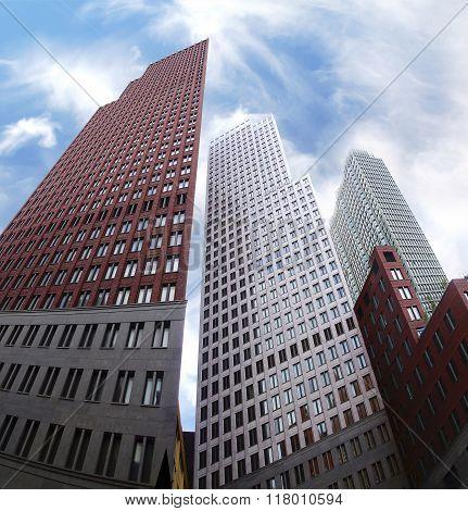 Modern Architecture In The Den Haag, Netherlands