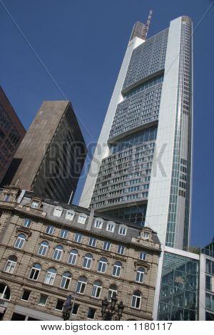 Modern Building In Frankfurt