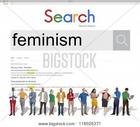 Feminism Advocacy Belief Equality Movement Concept